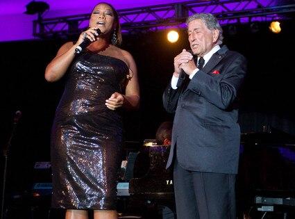 Queen Latifah, Tony Bennett