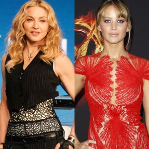 Madonna, Jennifer Lawrence