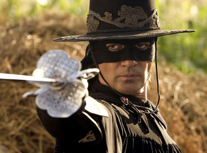 THE LEGEND OF ZORRO, Antonio Banderas