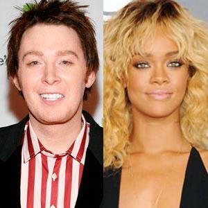 Clay Aiken, Rihanna