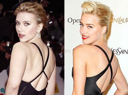 Amber Heard, Scarlett johansson