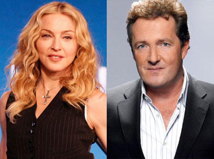 Madonna, Piers Morgan