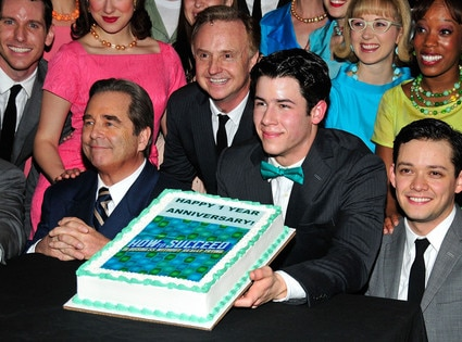 Beau Bridges, Nick Jonas, Michael Urie