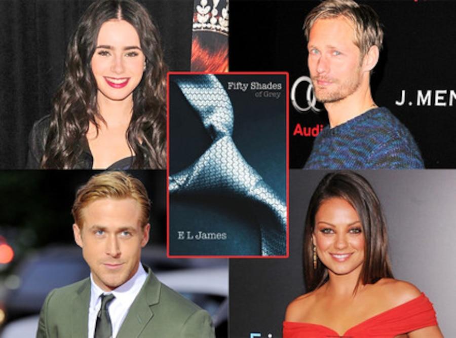 Lily Collins, Alexander Skarsgard, Mila Kunis, Ryan Gosling, Fifty Shades of Grey