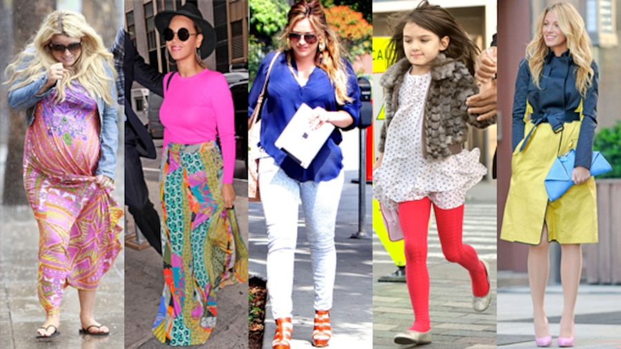 Jessica Simpson, Beyonce, Hilary Duff, Suri Cruise, Blake Lively