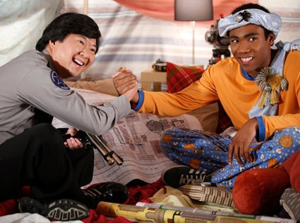 Ken Jeong, Donald Glover, Community
