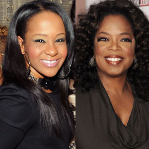 Bobbi Kristina Brown, Oprah Winfrey
