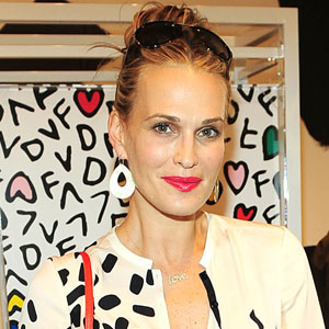 Molly Sims, DVF Gap Event
