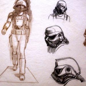 Ralph McQuarrie Drawings
