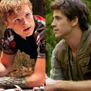 Hunger Games, Josh Hutcherson, Liam Hemsworth