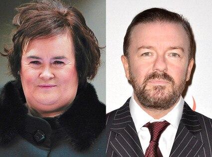 Susan Boyle, Ricky Gervais