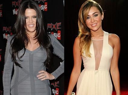 Khloe Kardashian Odom, Miley Cyrus
