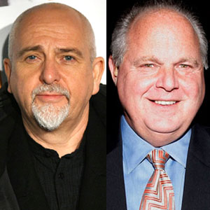 Rush Limbaugh, Peter Gabriel