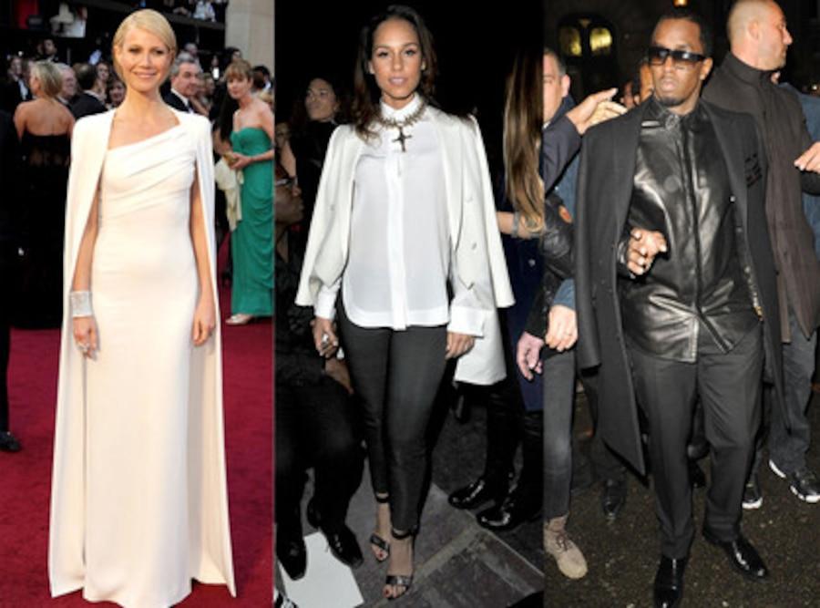 Alicia Keys, Gwyneth Paltrow,  Sean Diddy Combs