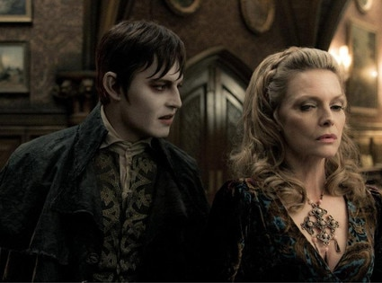Johnny Depp, Michelle Pfeiffer, Dark Shadows