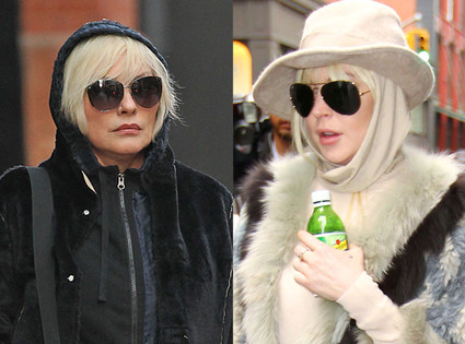 Debbie Harry, Lindsay Lohan