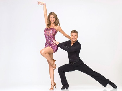 Dancing with the Stars, DWTS Season 14, MARIA MENOUNOS & DEREK HOUGH