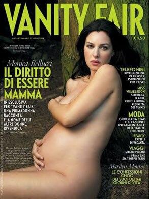 Monica Bellucci, Italian Vanity Fair