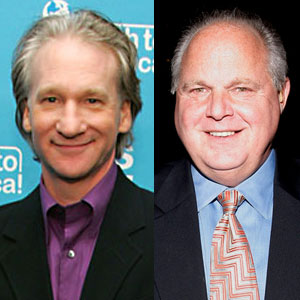 Bill Maher, Rush Limbaugh