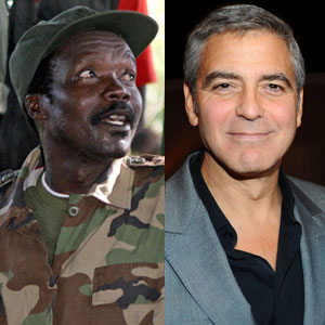 Joseph Kony, George Clooney