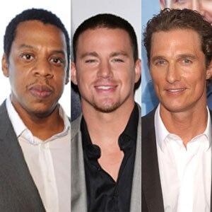 Jay-Z, Channing Tatum, Matthew McConaughey