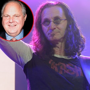 Rush Limbaugh, Geddy Lee, RUSH