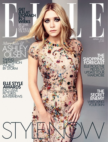 Ashley Olsen, Elle UK Cover