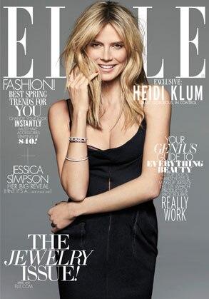 Heidi Klum, Elle Cover