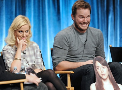 Amy Poehler, Chris Pratt, PaleyFest 2012