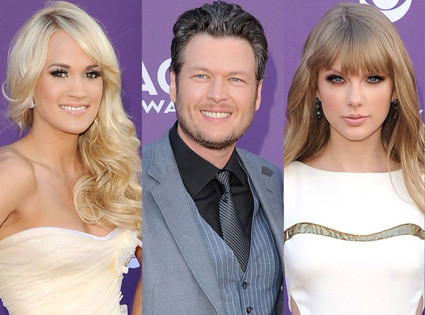 Country Music Awards, Taylor Swift, Blake Shelton, Carrie Underwood