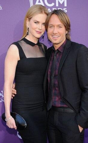 Country Music Awards, Nicole Kidman, Keith Urban