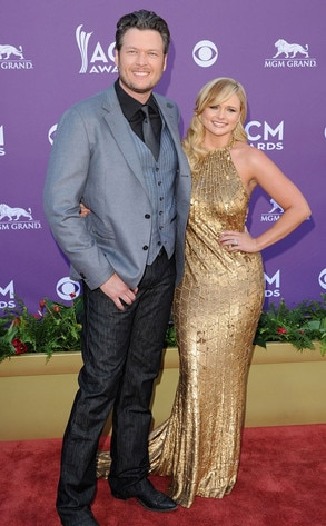 Country Music Awards, Blake Shelton, Miranda Lambert
