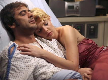 Jeffery Dean Morganm Katherine Heigl, Grey's Anatomy, OMG Moments