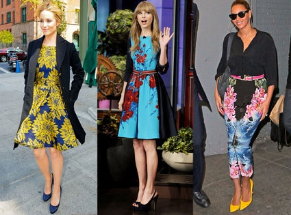 Dianna Agron, Taylor Swift, Beyonce