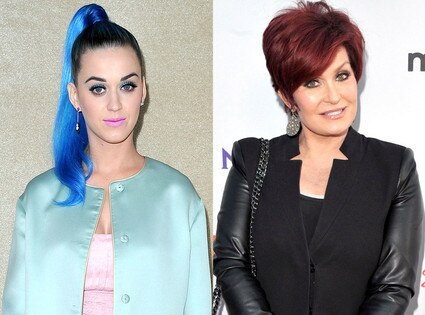 Katy Perry, Sharon Osbourne