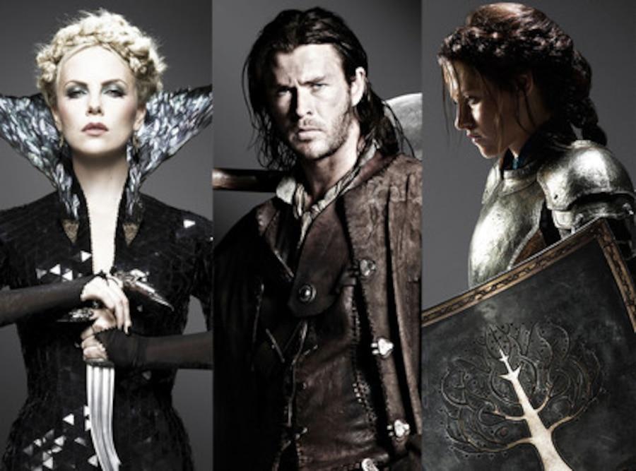 Charlize Theron, Chris Hemsworth, Kristen Stewart, Snow White and the Huntsman