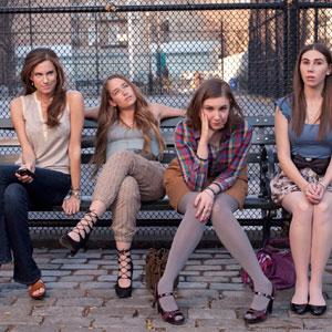 Allison Williams, Jemima Kirke, Lena Dunham, Zosia Mamet, Girls