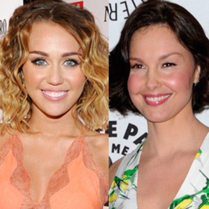 Miley Cyrus, Ashley Judd