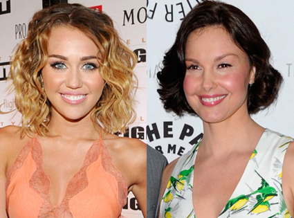 Miley Cyrus, Ashley Judd