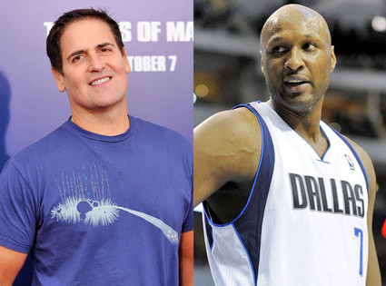 Mark Cuban, Lamar Odom