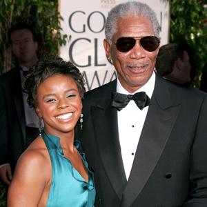 Morgan Freeman And Step Granddaughter Deny Engagement