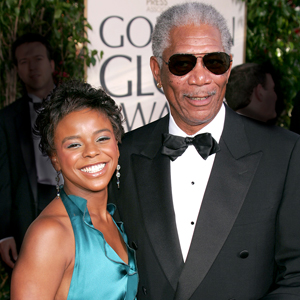 Morgan Freeman And Step Granddaughter Deny Engagement