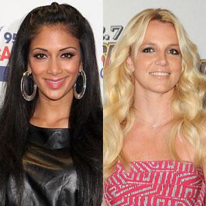 Nicole Scherzinger, Britney Spears