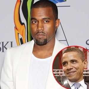 Kanye West, Barack Obama