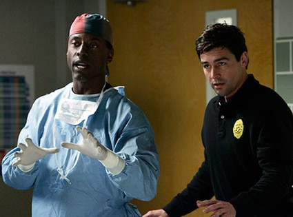 Isaiah Washington, Kyle Chandler, Grey's Anatomy