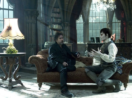 Behind the Scenes, Tim Burton Johnny Depp, Dark Shadows
