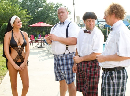 Kate Upton, Will Sasso, Chris Diamantopoulos, Sean Hayes, The Three Stooges