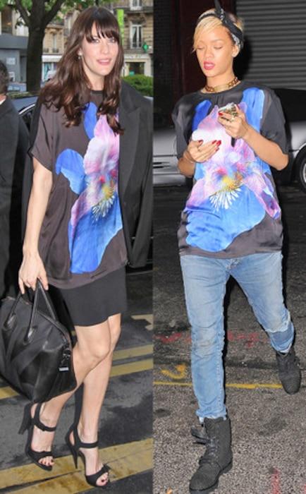 Liv Tyler, Rihanna