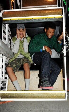 Coachella Festival, Usher