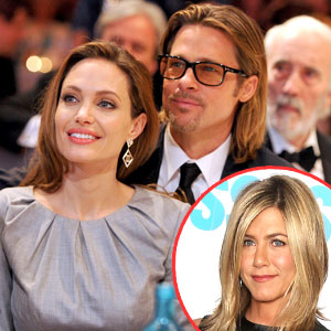 Brad Pitt and Angelina Jolie, Jennifer Aniston